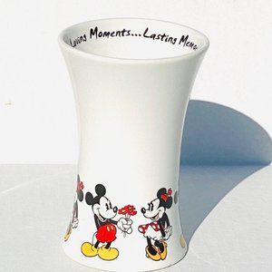 Disney Parks Mickey and Minnie Vase